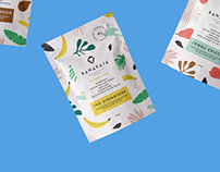 Banaraja - healthy snacks branding