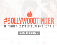 Vintage Bollywood Tinder Profiles - #TinderDuring90s
