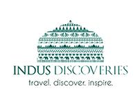 Indus Discoveries; Complete Branding & Website Design