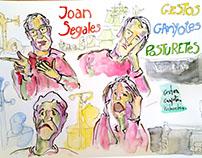 Drawing Joan Segales. Vol-Ras.