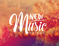 New Music Friday logo