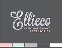 Ellieco Baby Accessories Brand Identity