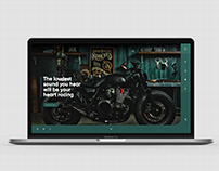Olly's Motor Co. Website Concept