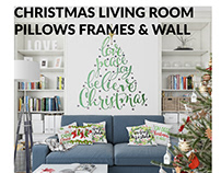 Christmas Living Room Set