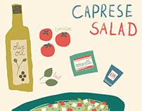 Caprese Salad illustration