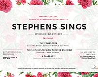 Stephens Sings, Spring Choral Concert