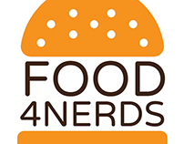 Logo Design: Food4Nerds