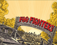 Foo fighters gigposter available !