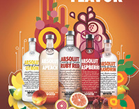 Absolut Find Your Flavor