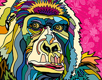 Gorilla Illustration