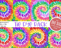 FREE PAPER PACK Tie Dye Papers