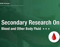 Secondary Research on Blood and Body Fluid Donation.