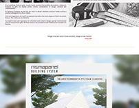 Landing Page layout Design