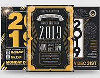 New Year Flyer Bundle V2