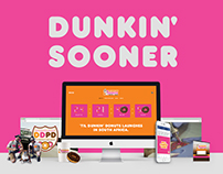Dunkin' Donuts Launch Campaign