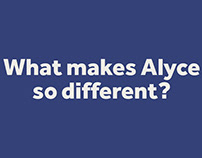 """Alyce - """"Gift recipient experience promo"""""""
