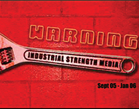 Industrial Strength Media Tri-Fold Brochure