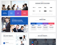 Stanford Company Google Slides Template