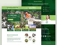 Crown Woods Tree Care - Website