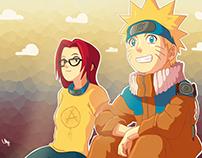 Naruto and Alana