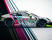 Porsche 911 RSR 'DUBAI' Livery Design