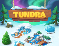 Wildscapes (Playrix) - Tundra Areal