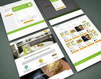 d'Nutririce, Halthy rice website design
