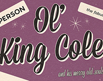 Ol' King Cole Poster Art