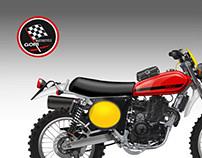 MOTO GORI SCRAMBLER 450