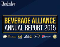 UC Berkeley | Pepsi Beverage Alliance Report 2015