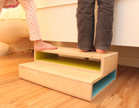 Step Up | A Modern Step Stool for Kids