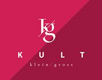 KULT || klein/gross || branding