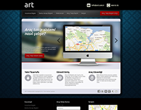 ART Elektronik Araç Takip Sistemi Websitesi, 2012