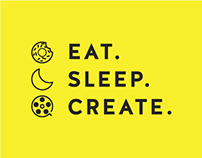 Eat. Sleep. Create.