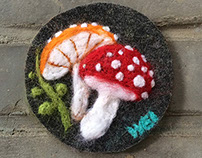 Needle-felt Picture