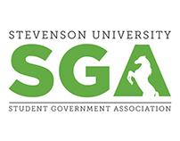 Stevenson University SGA Logo