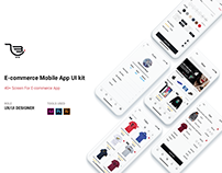 Metro Store | E-commerce UI Kit For iOS