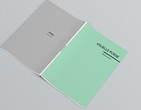Booklet visual poetry