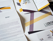 La Critic // Visual identity
