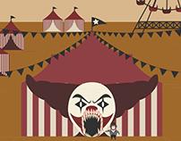 """Ilustraciones para el proyecto """"Freaks Circus"""""""