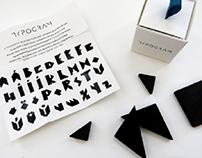 TYPOGRAM. Typographic Puzzle Game