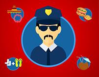Policía Turística. Turismo de Alicante