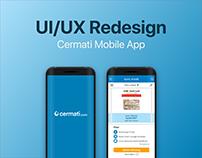 UI/UX Redesign | Cermati Credit Card Module
