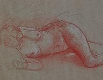 conte sketches