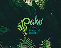 Pako Spring Waterfalls Resort - Branding