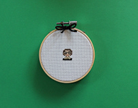 Tiny Feminist Cross Stitch Series