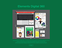 Web design - V1 - Elements digital 360