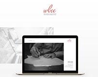 WBEE webdesign and minimalistic branding