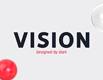 VISION - Free font family