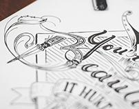 Trabalho Tipográfico - The Mavens Telescope